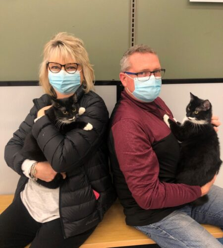 Emmy & Toni Adopted TOGETHER at petco!