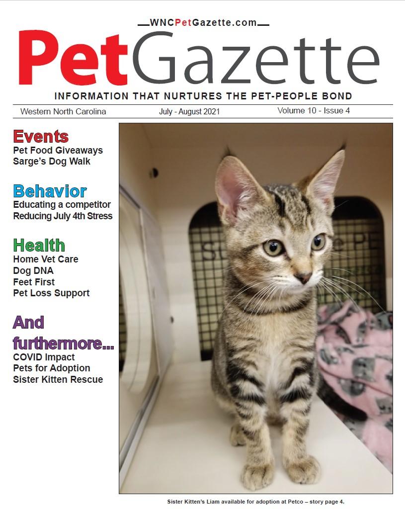 WNC Pet Gazzette Cover